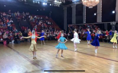 Кубок по танцу джайв и сразу 3 наши солистки в финале